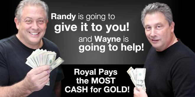 Randy and Wayne Cohen at Royal Pawn Shop Chicago, IL
